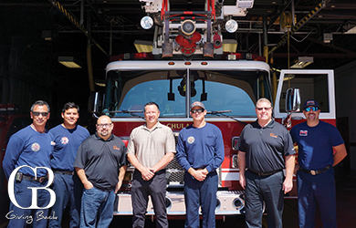 Seven Mile Team Members Visiting The Fire Department To Provide First Responders With Lunch On September 11 Thumbnail