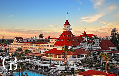 Summertime at Hotel del Coronado